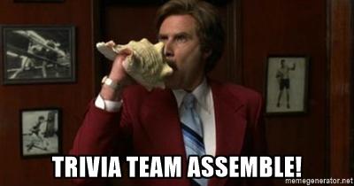 Tuesday Night Trivia